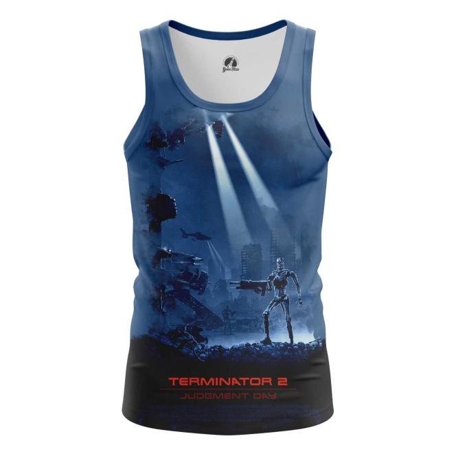 Collectibles Men'S Tank Judgement Day Terminator Vest