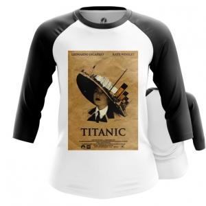 Merch Women'S Raglan Titanic 90Th Movie