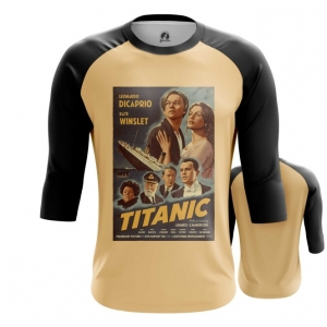 Merch Men'S Raglan Titanic Print Cover Poster