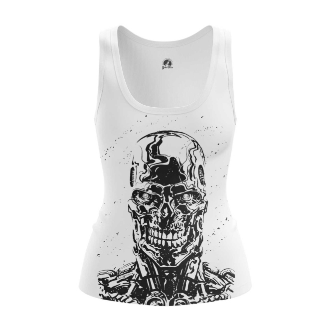 Merchandise Women'S Tank Skull Endoskeleton Terminator Vest