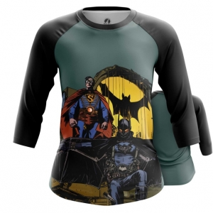 Collectibles Womens Raglan Steampunk Batman Superman