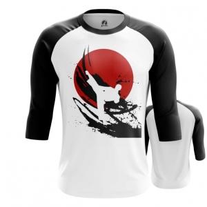 Merchandise Men'S Raglan Karate Symbols Merch