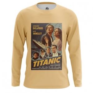 Merch Men'S Long Sleeve Titanic Print Cover Poster