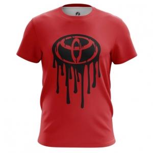 Merch Men'S T-Shirt Toyota Logo Red Top