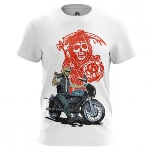 Merch Men'S T-Shirt Sons Of Anarchy Tv Series Top