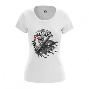 Merch Women'S T-Shirt Logo Tv Show Sons Of Anarchy Top