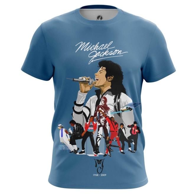 Collectibles Men'S T-Shirt Michael Jackson Tribute Merch Top