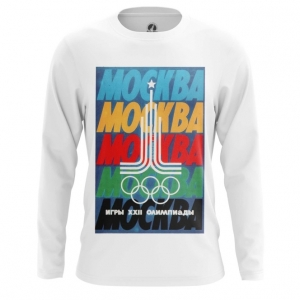 Merch Men'S Long Sleeve Moscow 1980 Olympic Games Clothing