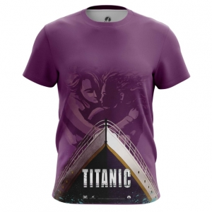 Merch Men'S T-Shirt Titanic Print Ship Top