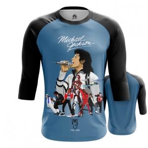Collectibles Men'S Raglan Michael Jackson Tribute Merch
