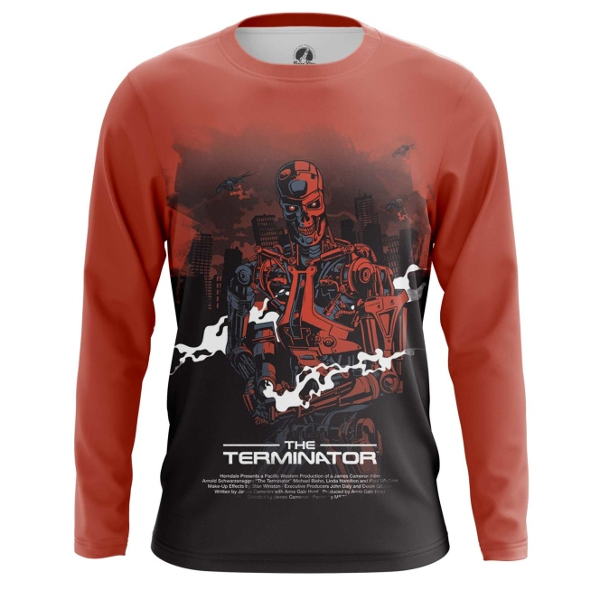 Merchandise Men'S Long Sleeve Terminator Endoskeleton Robot