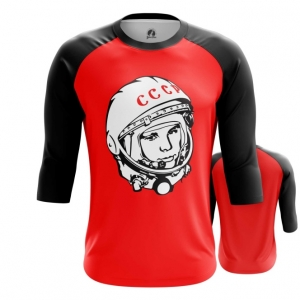 Collectibles Men'S Raglan Yuri Gagarin Cosmonaut