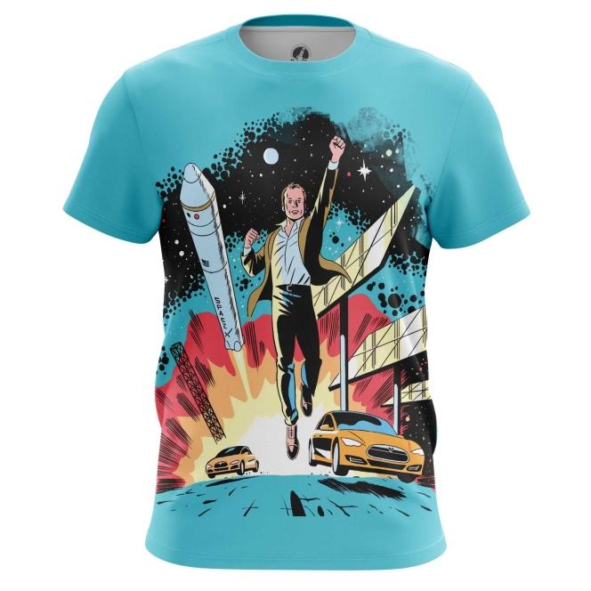 Collectibles Men'S T-Shirt Space X Elon Musk Merch Top