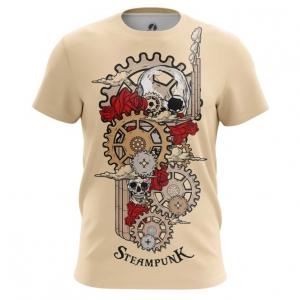 Collectibles Men'S T-Shirt Steampunk Mechanism Print Top
