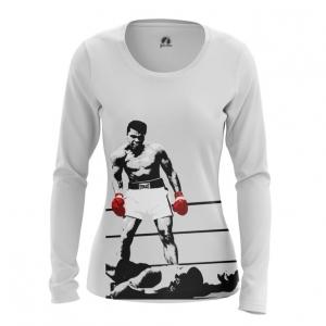 Merchandise - Women Long Sleeve Champion Muhammad Ali