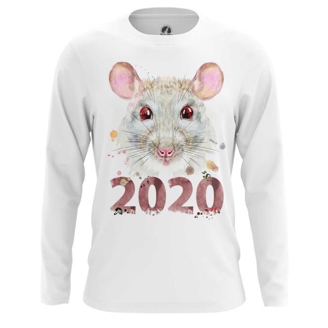Merch Men'S Long Sleeve New Year 2020 Symbols