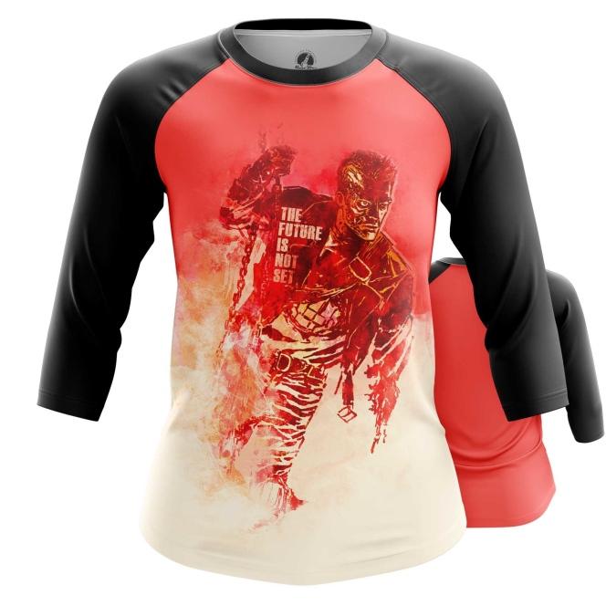 Merchandise Women'S Raglan Future Is Not Set Terminator