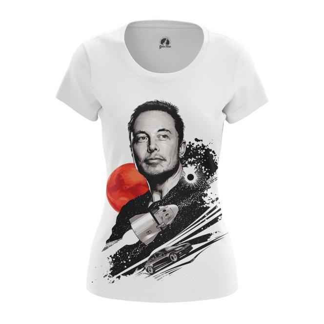 Merchandise Women'S T-Shirt Elon Musk To The Stars Top