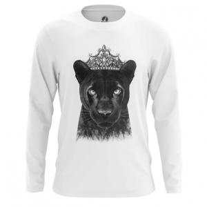 Merchandise Men'S Long Sleeve Panther Merch Print