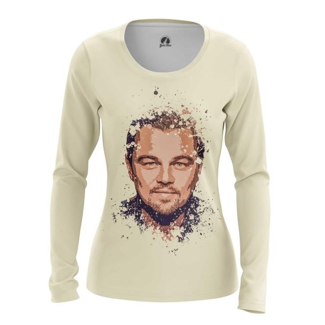 Merchandise Women'S Long Sleeve Leonardo Di Caprio Merch