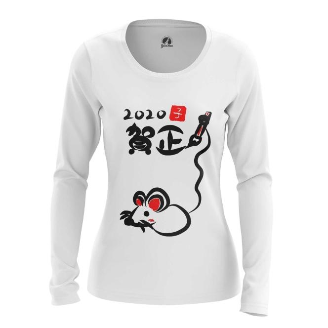 Merchandise Women'S Long Sleeve Chinese New Year 2020 Symbols