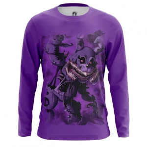 Merch Men'S Long Sleeve Twisted Bonnie Five Nights At Freddy'S