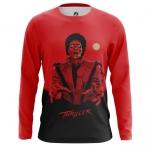 Merchandise Men'S Long Sleeve Thriller Michael Jackson