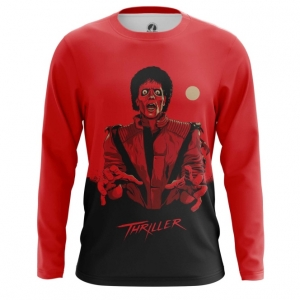Collectibles Men'S Long Sleeve Thriller Michael Jackson