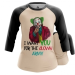 Collectibles Women'S Raglan Join Clown Army Joker
