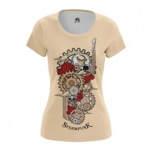 Collectibles Women'S T-Shirt Steampunk Mechanism Print Top