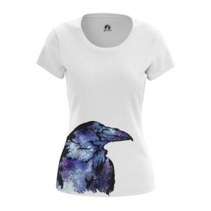 Collectibles Women'S T-Shirt Raven Crow Print Top