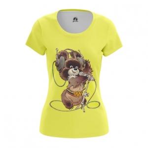 Merch Women'S T-Shirt Mascot Olympic Bear Ussr Top
