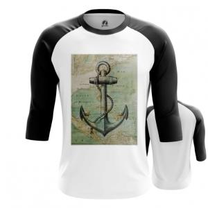 Collectibles Men'S Raglan Sea Anchor Print