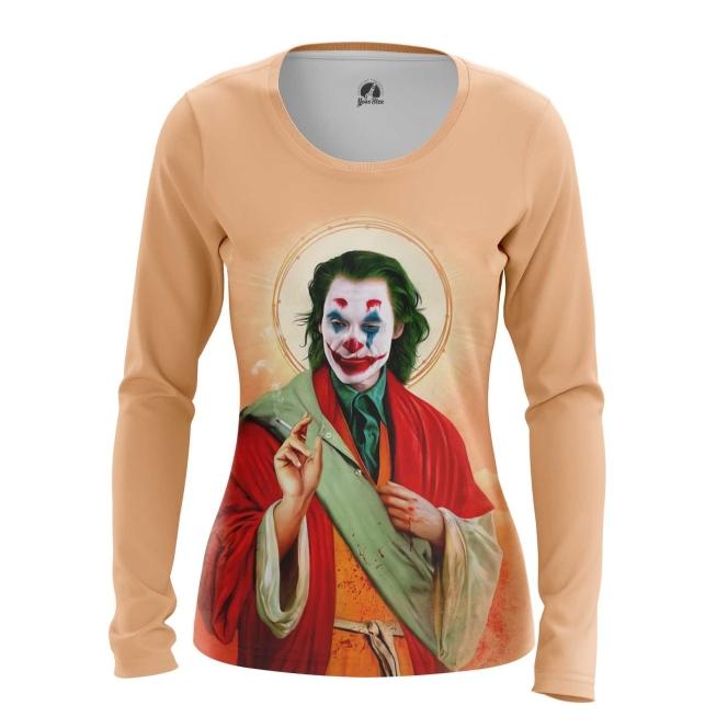 Merch Women'S Long Sleeve Saint Joker Print