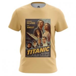 Merch Men'S T-Shirt Titanic Print Cover Poster Top