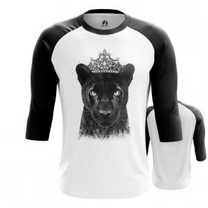 Merchandise Men'S Raglan Panther Merch Print