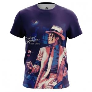 Collectibles Men'S T-Shirt Smooth Criminal Michael Jackson Top
