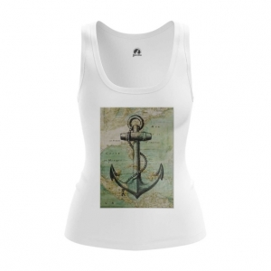 Collectibles Women'S Tank Sea Anchor Print Vest