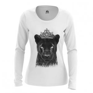 Merchandise Women'S Long Sleeve Panther Merch Print