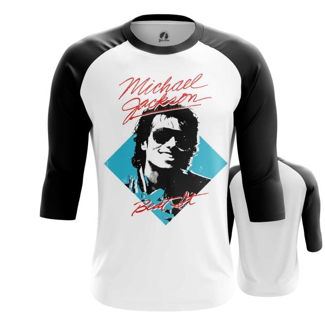 Collectibles Men'S Raglan Beat It Michael Jackson Merch