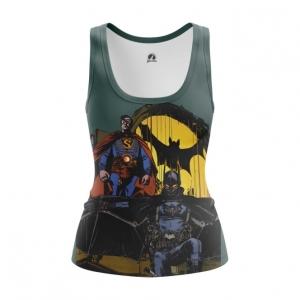 Collectibles Womens Tank Steampunk Batman Superman