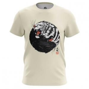 Merchandise Men'S T-Shirt Tiger Panther Print Top