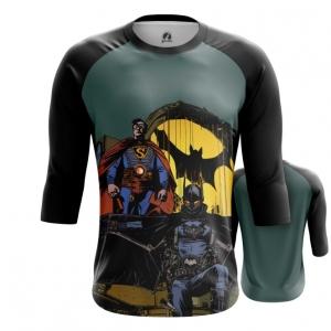 Collectibles Men'S Raglan Steampunk Batman Superman