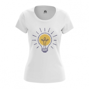 Collectibles Women'S T-Shirt Bulb Print Painted Pattern Top