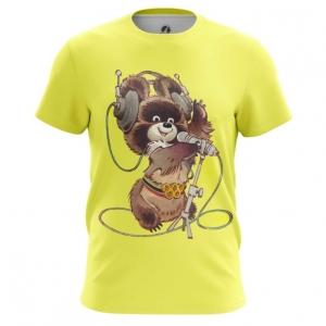 Merch Men'S T-Shirt Mascot Olympic Bear Ussr Top