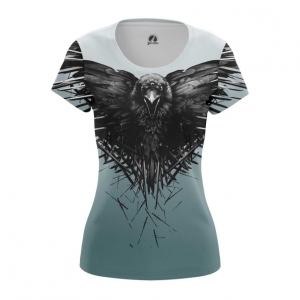 Collectibles Women'S T-Shirt Third Eye Crow Game Of Thrones Top