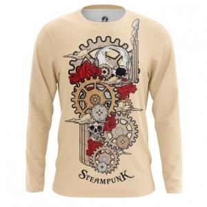 Collectibles Men'S Long Sleeve Steampunk Mechanism Print