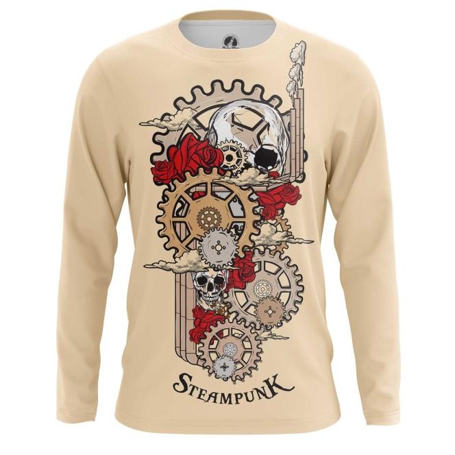 Merchandise Men'S Long Sleeve Steampunk Mechanism Print