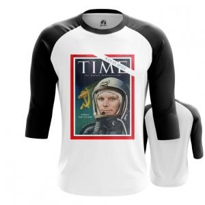 Collectibles Men'S Raglan Magazine Cover Time Yuri Gagarin