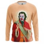 Merch Men'S Long Sleeve Saint Joker Print